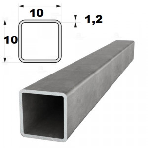 Труба профильная  10х10 х1,2   (6 м) Север-Сталь