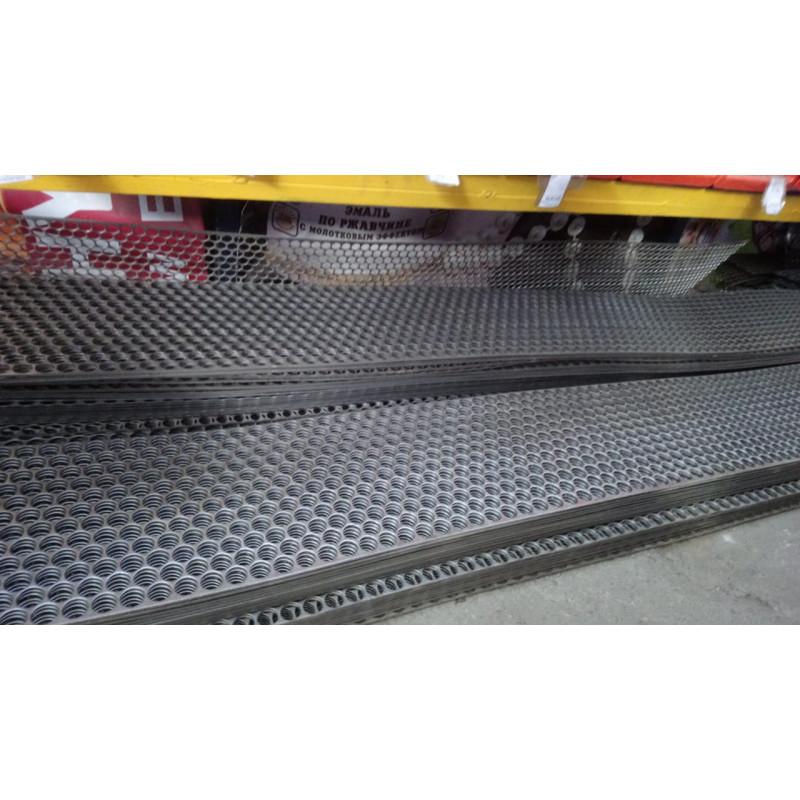 Просечка сталь (полоса) 3,2мм*12см*2п.м