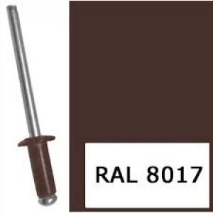 Заклепка ZK-3.2х8 (RAL 8017)