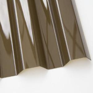 Профилированный поликарбонат 2м бронза