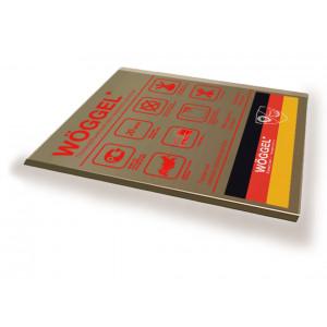 Монолитный поликарбонат Woggel бронза 2мм