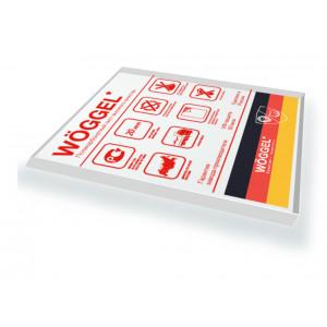 Монолитный поликарбонат Woggel прозрачный 2мм