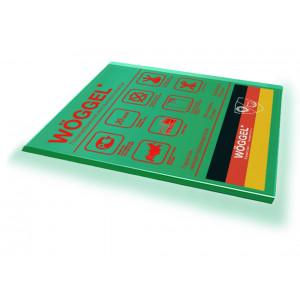 Монолитный поликарбонат Woggel зеленый 2мм