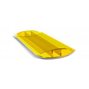 Профиль соединительный неразъемный желтый (6м)