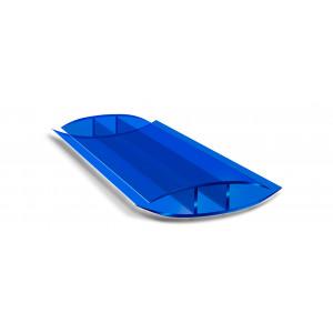 Профиль соединительный неразъемный синий (6м)