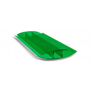 Профиль соединительный неразъемный зеленый (6м)