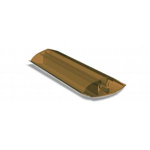 Профиль соединительный разъемный бронза (6м)