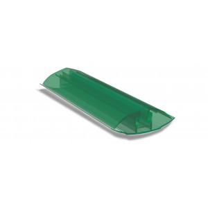 Профиль соединительный разъемный зеленый 6(м)