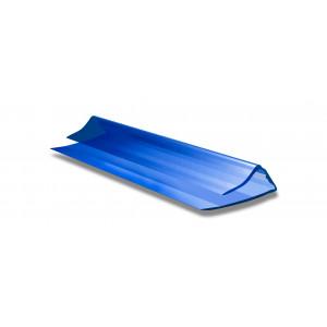 Профиль торцевой синий для СПК (2,1м)