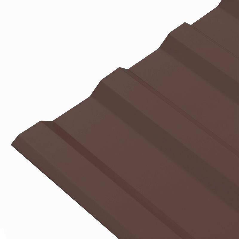 Профнастил С- 8 VikingMP E-20-8017 шоколад -0,5 (1,2х2,0)-1