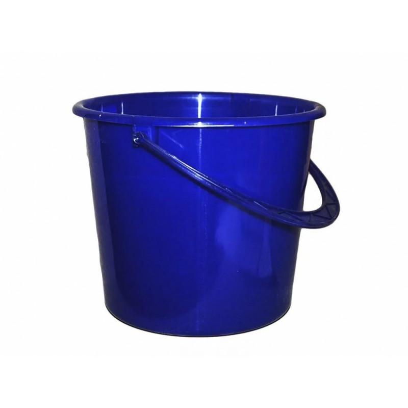Ведро строительн пласт круглое 14л (Синее)