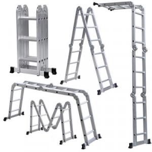 Лестница трансформер 4х4ст (122/225/490см х 13,5кг)