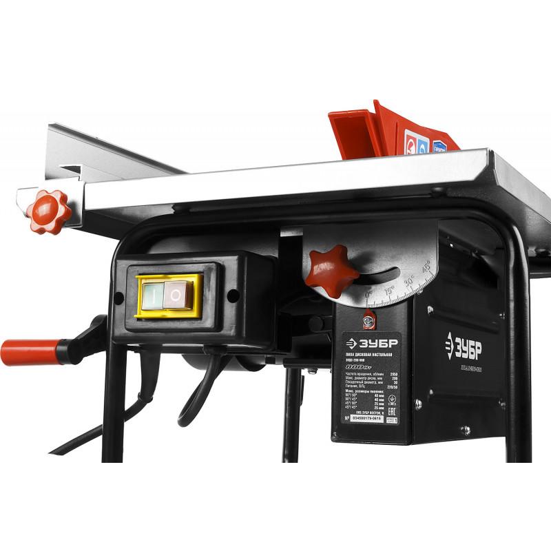 Станок распиловочный ЗУБР ЗПДС-200-800-2